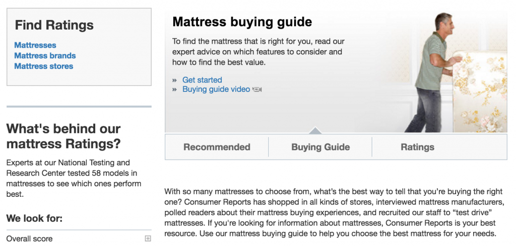 Best Mattress Reviews – Consumer Reports