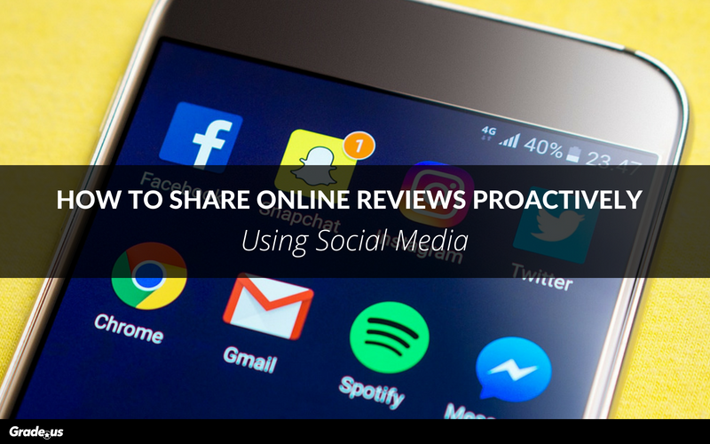 How To Share Online Reviews Proactively Using Social Media